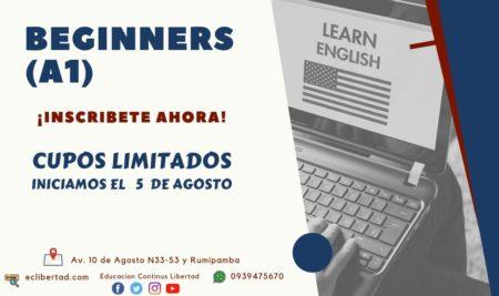Nueva apertura del Curso de Inglés
